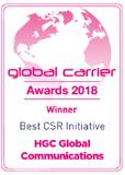 Global Carrier Awards 2018 Best Csr Initiative